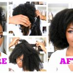 How To Turn A High Puff Into A Weave : 20 MINUTES! No Sewing ft. Her given Hair [Video]