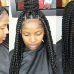 Jumbo Box Braids Tutorial [Video]