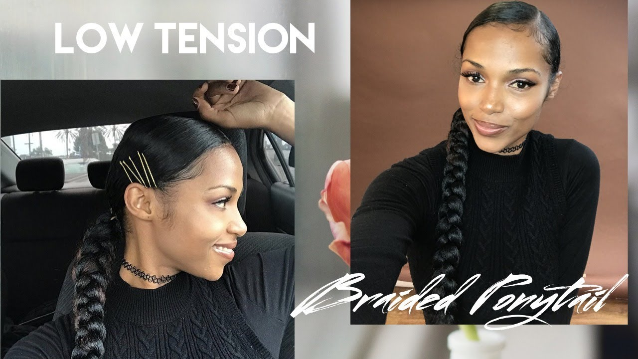 Low Tension Braided Ponytail [Video]