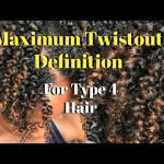Maximum Twistout Definition| Type 4 Short Natural Hair