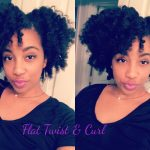 Flat Twist & Curl | Camille Rose Naturals Coconut Water Style Setter & Curl Maker