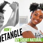 How I Detangle My Short Natural Hair | 4B/ 4C Hair Texture