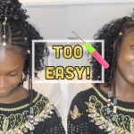 Kids Back2School Tribal Crochet Braids and Beads