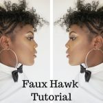 DIY | Curly Faux Hawk Tutorial
