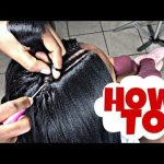 Perfect Invisible Part Crochet With Straight Hair [Video]