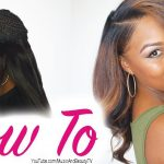 Sew-in with Leave Out – FULL BANG – How To Step By Step [Video]