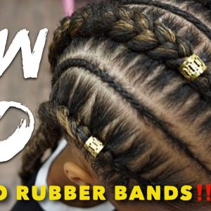 Stitch Braid Tutorial – No Rubber Bands [Video]
