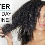 Winter Wash Day Routine for Natural Hair| L.C.O Method [Video]