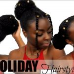 3 Holiday Hairstyles Under 5 Minutes! | Hair Jewel Edition [Video]