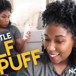 My HALF-PUFF Natural Hairstyle HACK + CHIT CHAT [Video]