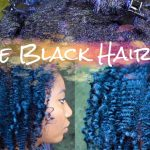 Dye Natural Hair Midnight Blue Black with Ion Color Brilliance [Video]