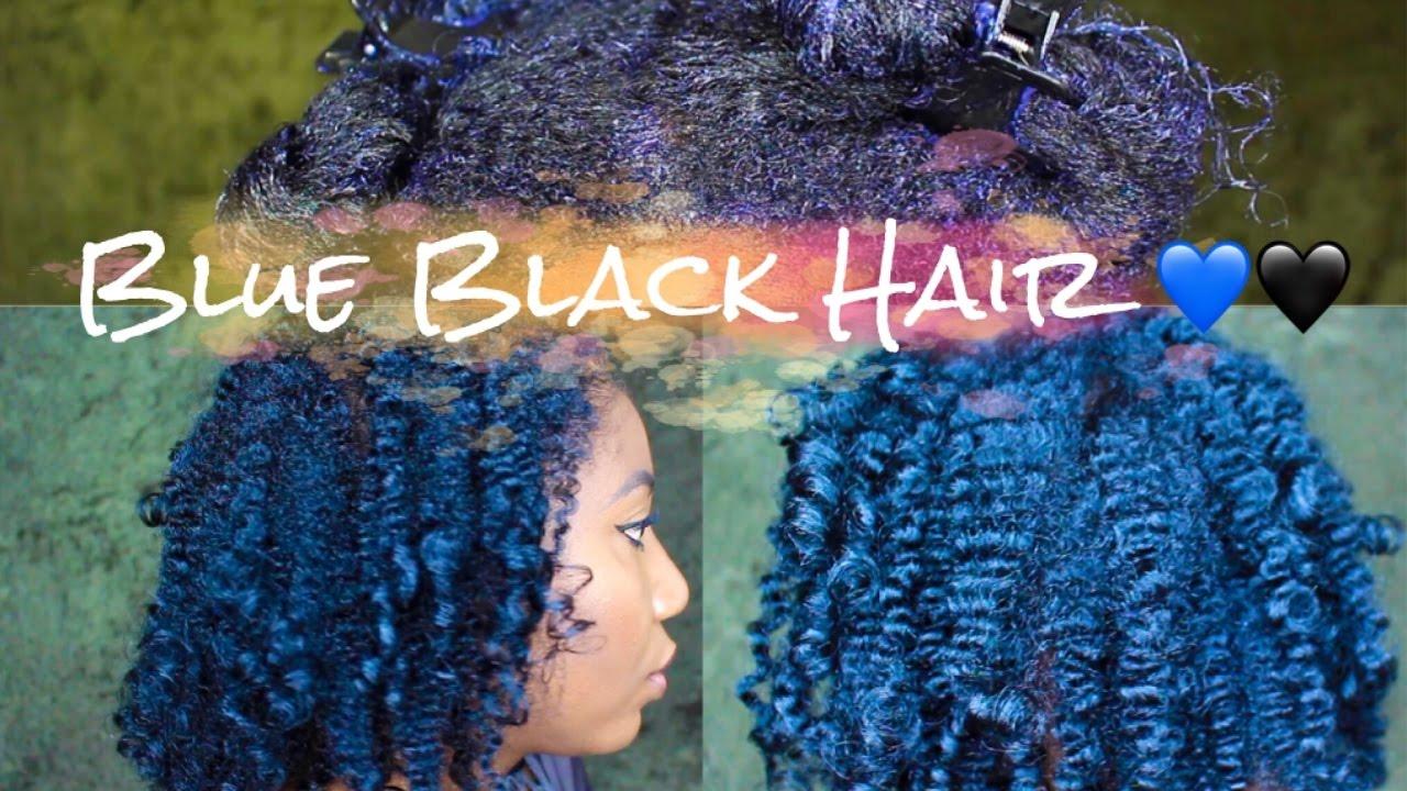 Revlon Natural Blue Black Results