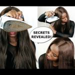 HOW TO : Flat iron your wig with an IRON -SECRETS REVEALED! [Video]