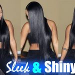 How I get My Hair to Look Silky, SLEEK, & Jet Black | Wiggins Hair [Video]