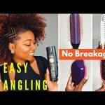 Detangling Natural Hair (Brush or Comb) | CURLS Cashmere Caviar Holiday Style [Video]