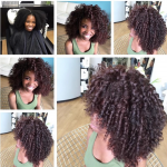 Gorgeous curls @salonpk