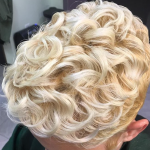 Beautiful golden blonde curls @itoccara