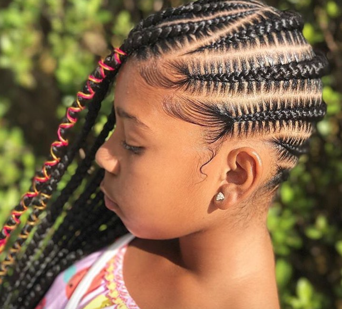 Sleek braids by @mslafitness - Black Hair Information