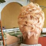 Nice natural hair pixie via @salonchristol