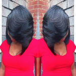 Cute layered bob  @iamkyking_g