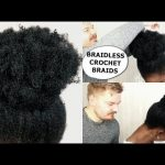 BRAIDLESS CROCHET BRAIDS – NO CORNROWS – HOW TO [Video]