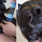 Classic Pin Curls [Video]