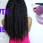 DIY Growth & Shine Deep Conditioner on Natural Hair[Video]