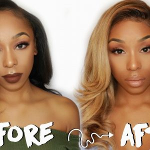 How To: Perfect Ash Blonde Hair | DARK HAIR TO ASH BLONDE [Video]