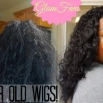 How to Restore a Wavy Synthetic Wig [Video]