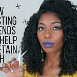 HOW TO TRIM YOUR OWN HAIR (CLIP YOUR ENDS) [Video]