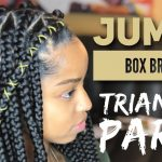 Jumbo Triangle Box Braids [Video]
