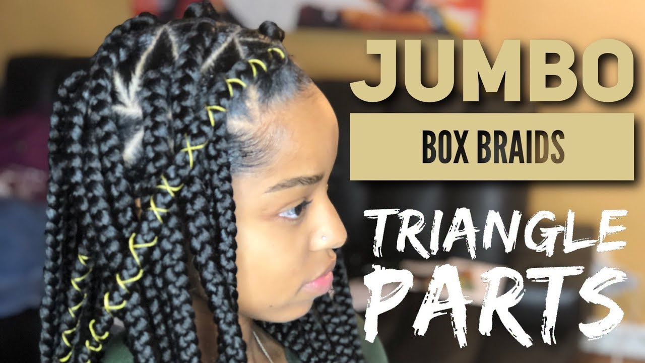 Jumbo Triangle Box Braids Video Black Hair Information