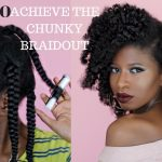NATURAL HAIR | How to achieve a BOMB Chunky Braidout (4a,4b,4c) ft. As I Am [Video]