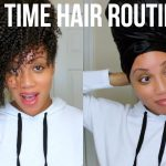 Nighttime Hair Routine 3 Ways + Options for SHORT HAIR [Video]