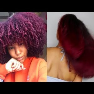 Shrinkage Is A Lie | Straightening My THICK Type 4 Natural Hair [Video]