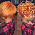 Beautiful color and curls via @msklarie