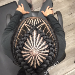 Dope braided design via @nisaraye