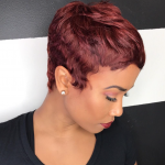 Super cute cut and color via @msklarie