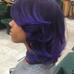 Love this purple by @salonchristol