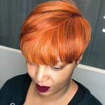 Love this color by @hairbylatise