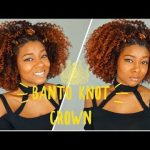 Bantu Knot Crown on Natural Hair + 2018 Hairstyles Challenge | Creme Of Nature [Video]