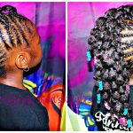 Braided Up | Mohawk With bubble Ponies | Children's Natural Hair Care [Video]
