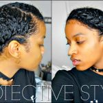 Flat Twisted Crown Protective Style + How to Layer Products For Protection on Natural Hair [Video]