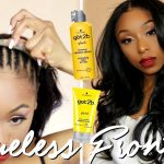 GLUELESS LACE FRONTAL WIG INSTALLATION AT HOME! | No Glue, No Tape, No Sewing [Video]