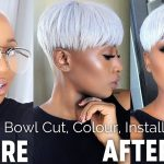 HOW TO: BOWL CUT, COLOUR, INSTALLATION + STYLE …ICY WHITE PLATINUM BLONDE / WHITE HAIR [Video]