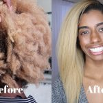 How To Flat Iron 4c Hair Silky Straight [Video]