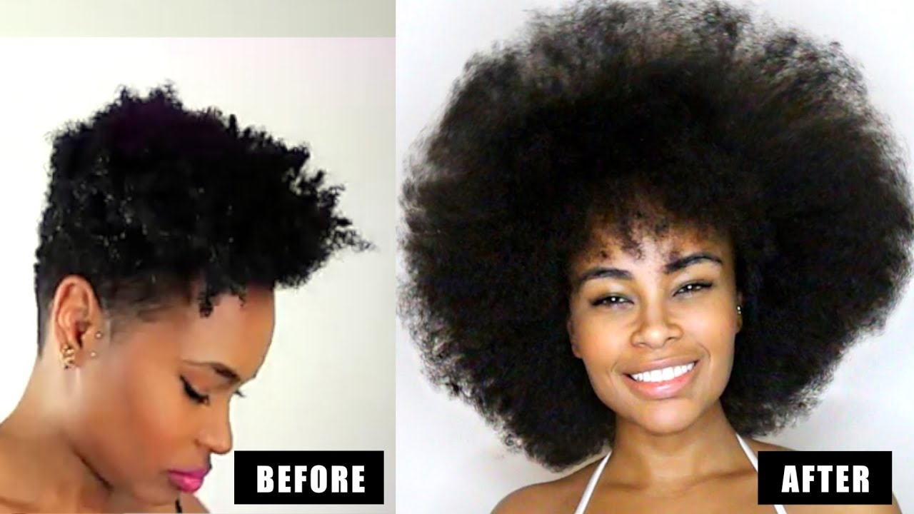 How To Grow Natural Hair Long Amp Fast 3 Easy Steps That