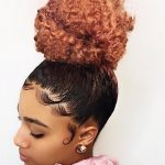 How To: High Bun and Slayed Edges — Trimming my Daughter's Natural Hair [Video]