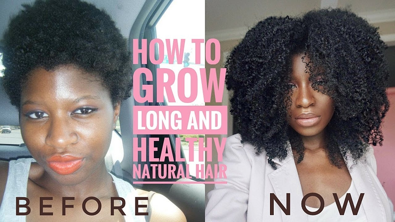 tips on how to grow long healthy natural hair