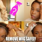 SECRETS REVEALED: Installing + REMOVING your lace frontal wig PROPERLY & SAFELY [Video]